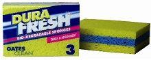 Sponge Bio-Degradable Pkt 3 SP-NAT-01