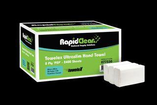 Ultraslim Rapid Clean Deluxe Towel P2P Ctn 2400