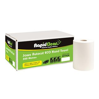 Auto Cut Hand Towel White RC 300m Ctn 4