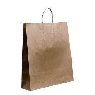 Loop Handle Brown Kraft  Bag Large Ctn 250