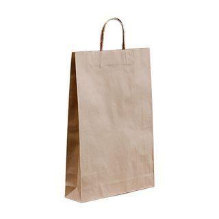 Loop Handle Brown Kraft  Bag Medium Ctn 250