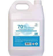 Hammersley Bacterial Hand Gel 5Lt