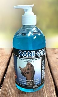 Sani Gel Hand Sanitiser Tasman 500ml