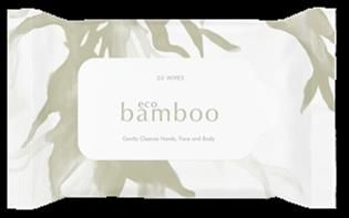 Luvme Bamboo Eco Baby Wipes Pkt 20
