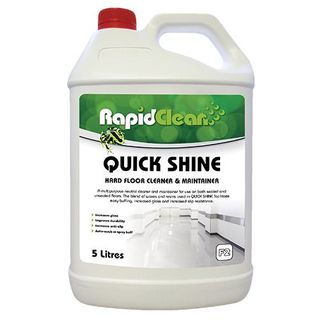 Quick Shine Hard Floor Cleaner & Maintainer 5L