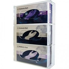 Glove Dispenser Plastic Triple