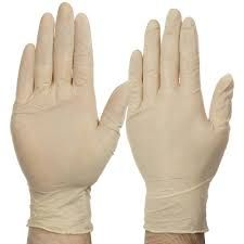 Glove Latex Medium Pkt 100