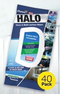 Oates Halo Wipes Pk 40