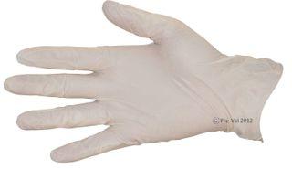 Glove Stretch Vinyl Clear Large Examination P/Free Pkt100