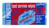 CastAway All Purpose Food Service Wipes Pkt 20