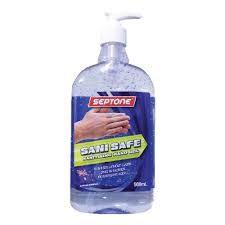 Septone Sani Safe Sanitising Hand Gel 500ML