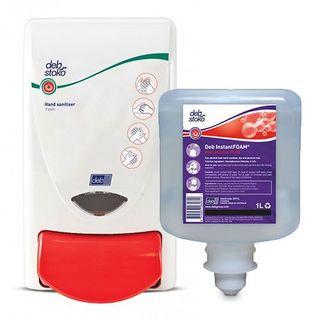 Deb Instant Foam Non Alcohol Sanitiser Touch Free 1.2 Lt