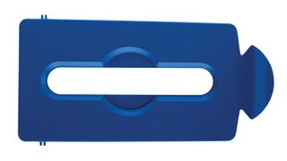 Slim Jim Recycling Station Paper Slot Lid - Blue