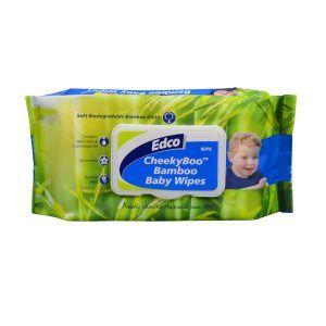 Edco CheekyBoo Bamboo Baby Wipes Ctn 10x80