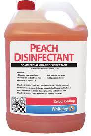Whiteley Peach Disinfectant 5Lt