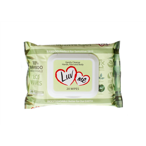 Luvme Bamboo Eco Baby Wipes Ctn 24x20 wipes