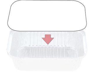 Foil Container Lid 7419 Ctn 500