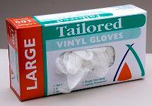 Glove Vinyl Clear Large Pkt 100