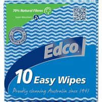 Edco Easy Wipes Pkt 10