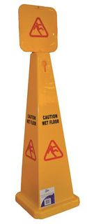 Wet Floor Sign Large Pyramid