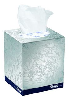 Facial Tissues Kleenex Cube 90 Sheets Ctn 24