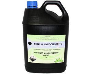 Sodium Hypochlorite L5 5Lt