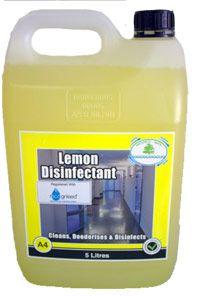 Lemon Disinfectant Tasman 5Lt