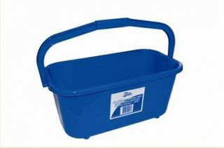 Bucket Edco All Purpose Mop & Window Squeegee 11Lt Blue