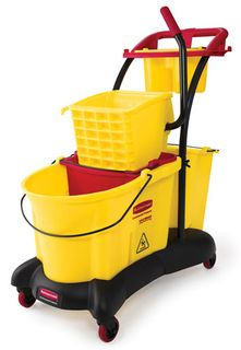 Rubbermaid Wave Break Mopping Trolley