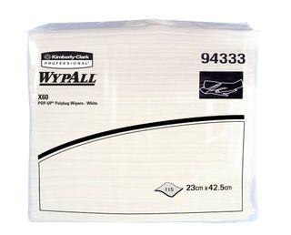 Wypall X60 Wipes Pop Up Poly Bag Ctn1380