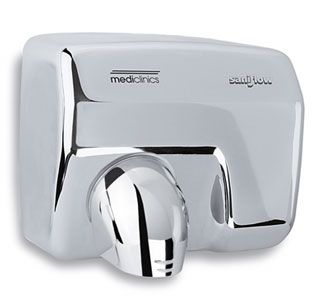 Hand Dryer Saniflow S/Steel Sensor Operated - Bright Finish