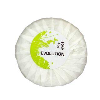 Evolution Bath Soap Pleated 40Gr ctn 250
