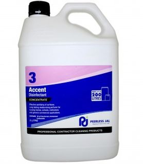 Accent Musk Commercial Grade Disinfectant (3) 5L