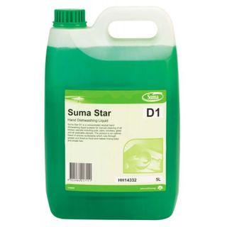 Suma Star Plus D1 Manual Dishwashing Concentrate Premium 5Lt