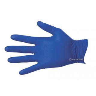 Glove NiteSafe Nitrile Blue Examination P/Free XLarge Pkt 100