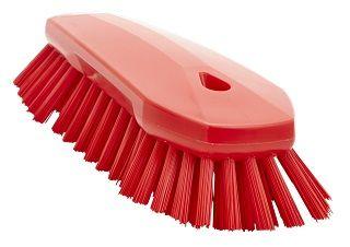 Vikan Scrub Brush Hard Red 250mm