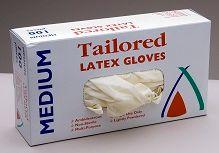 Glove Latex Medium Powder Free Pkt 100