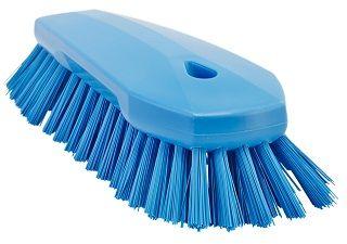 Vikan Scrub Brush Hard Blue 250mm