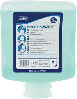 Deb Hair & Body Wash 1Lt