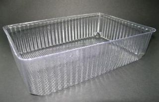 Vegetable Tray Clear Deep 7x5 500gm Ctn 750