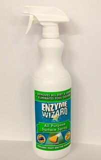 Enzyme Wizard All Purpose Surface Spray 1L EMPTY