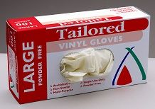 Glove Vinyl Clear Large Powder Free Carton