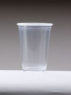 Cup Clear Plastic 12oz Slv 50 (350ml)