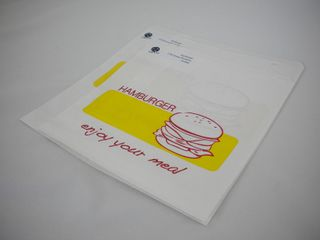 Bag 2 Square Burger Pkt 500
