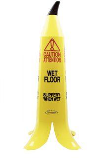 Wet Floor Sign Banana 90cm