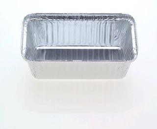 Foil Container 7119 30oz Oblong Takeaway Slv 100
