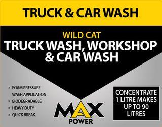 Wild Cat Car & Truck Wash 205Lt