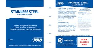 Stainless Steel Cleaner 1Lt