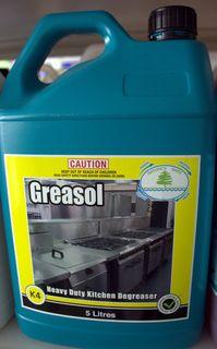 Greasol Heavy Duty Detergent 5Lt