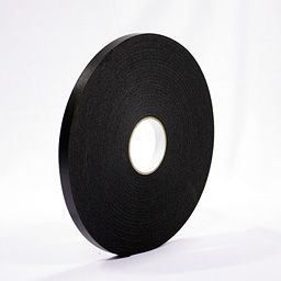 Tape Foam PE Black 18x5mmx15mt